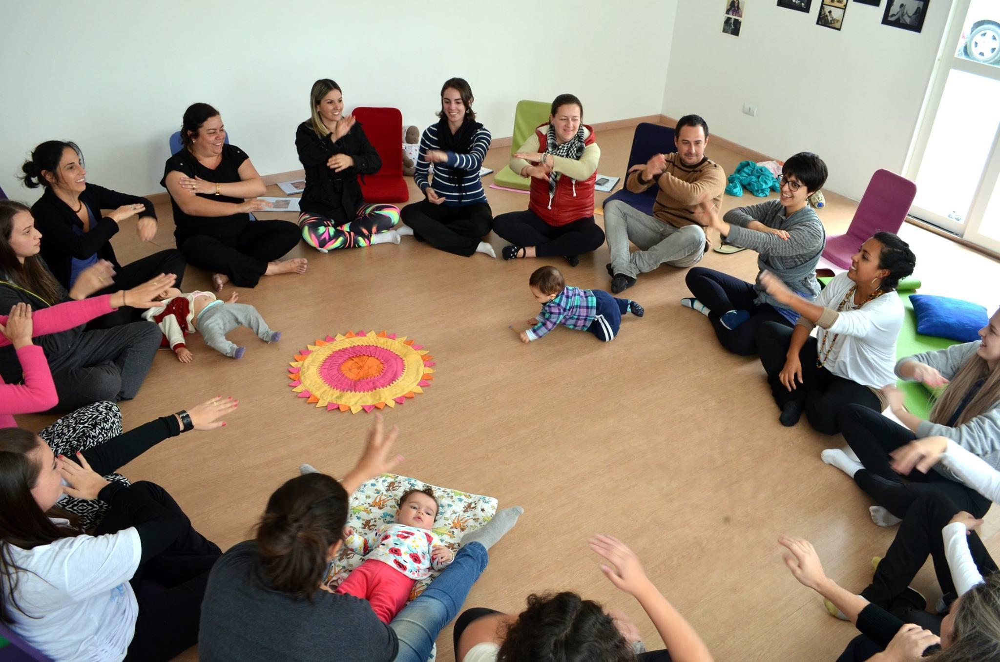 Curso de Capacitação em Dança com Bebês 2016