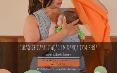 Curso de Capacitação em Dança com Bebês 2017