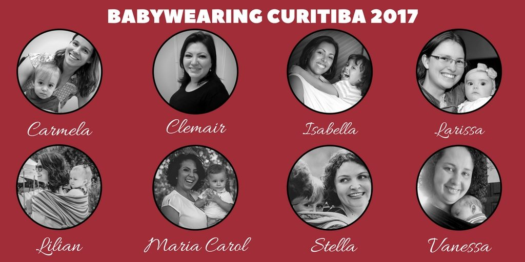 Equipe Babywearing Curitiba 2017
