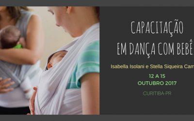 Capacitação em Dança com Bebês – 4ª edição
