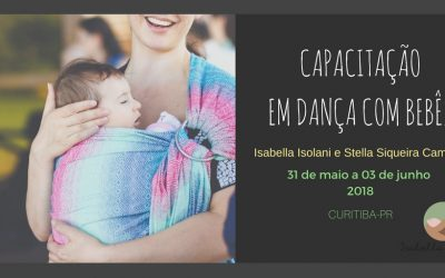 Capacitação em Dança com Bebês – 5ª edição