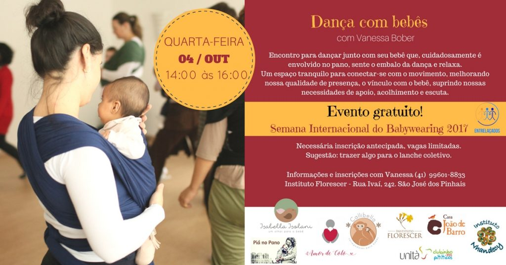 dança com bebês no Florescer