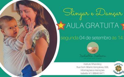 Slingar e Dançar – aula gratuita!